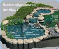 Оборудование прудов, строительство